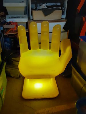 1960's Retro Yellow right hand chair . This is an adult chair, not a child chair. for Sale in Chicago, IL