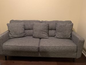 Loveseat and Chaise light grey for Sale in Parkland, FL