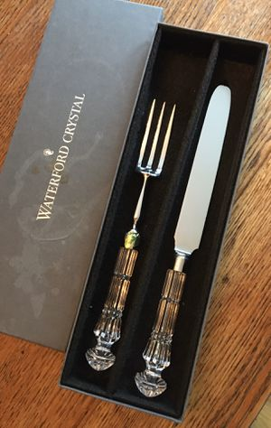 Waterford Crystal Carving Set for Sale in Framingham, MA