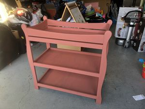 Changing table or just shelving for whatever for Sale in Costa Mesa, CA