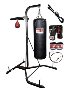 TITLE Boxing Heavy and Speed Bag Stand for Sale in Dulles, VA