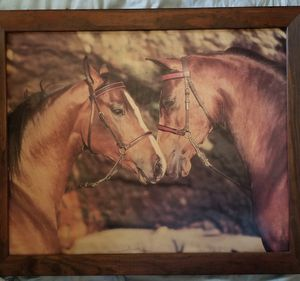 Horses kissing picture for Sale in Lebanon, PA