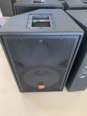 4 JBL MPRO MP415 Professional Speakers for Sale in Phoenix, AZ