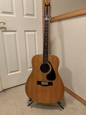 Vintage Jumbo Yamaha 12 String Model FG 512 for Sale in Everett, WA