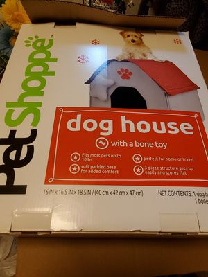 Indoor Dog House with Bone Small Dog for Sale in Lakehurst, NJ