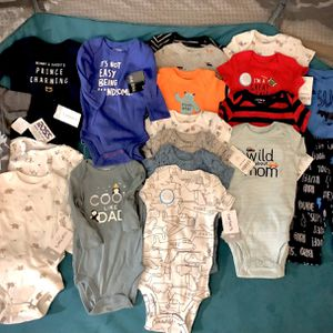 25 PC LOT 3M BABY BOY CLOTHES BRAND NEW W/ TAGS NEVER WORN. for Sale in Hudson, FL