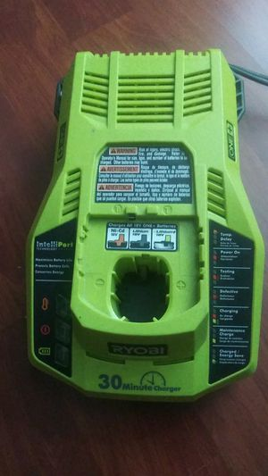 Ryobi 18v fast change... Charger for Sale in Dallas, TX
