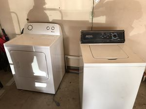 Washer dryer both work good for Sale in Fremont, CA