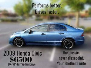 2009 Honda Civic Dx-vp for Sale in Norcross, GA