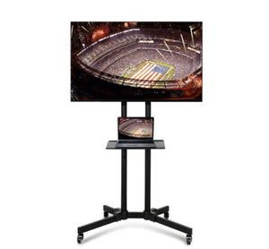 Mobile TV Cart Mount Stand for 32 to 65 Inch LED LCD Plasma Flat Screen Panels New for Sale in Modesto, CA