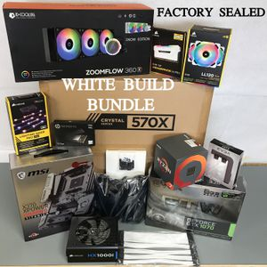 AMD Ryzen GTX GeForce Computer Gaming WHITE bundle BRAND NEW SEALED BOXES for Sale in Long Beach, CA