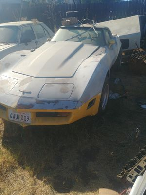 1981 chevy corvette project for Sale in Perris, CA