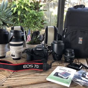 Canon EOS 7D Digital SLR for Sale in Tampa, FL