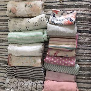 Baby Swaddle Blankets & Bibs for Sale in Deltona, FL