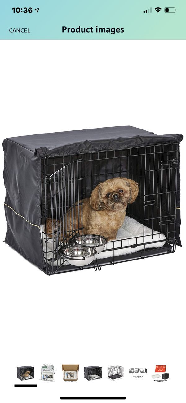Dog Pen and Grey Cover