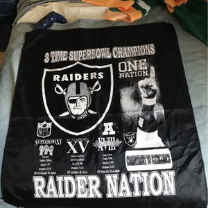 Raiders Banner for Sale in San Jose, CA