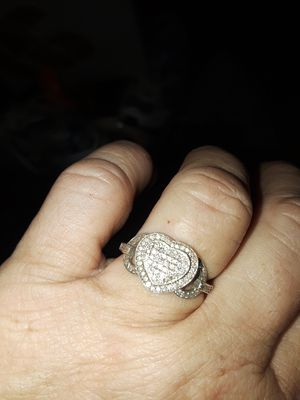 Heart diamond cluster ring for Sale in Kennesaw, GA