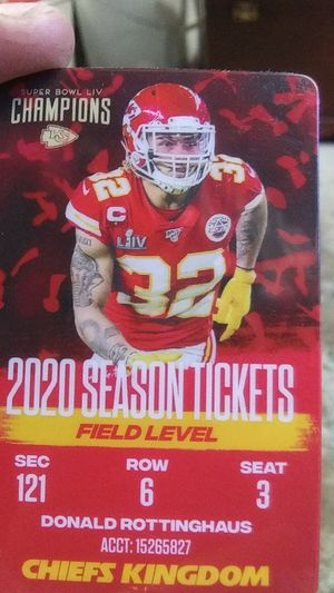 Chiefs Season tickets for Sale in LAKE TAPWINGO, MO