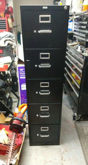Hon 5 drawer filing cabinet for Sale in Sanford, FL