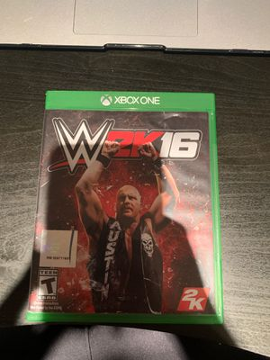 Wwe 2k16 for Sale in Gaithersburg, MD