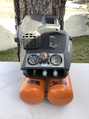 RIDGID 4.5 Gal. Portable Electric Quiet Air Compressor for Sale in Fontana, CA