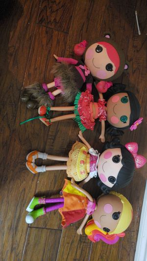 Lalaloopsy dolls for Sale in Mesquite, TX