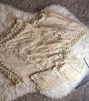 Cream, bohemian tunic for Sale in Oviedo, FL