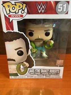 "Funko POP! WWE JAKE ""THE SNAKE"" ROBERTS VINYL FIGURE Wrestling Wrestle Mania~NEW for Sale in Los Angeles,  CA"