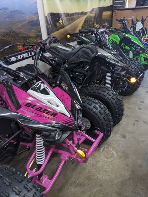 ATVs. Dirt Bikes. Kids mini ATVs. On sale at turbopowersports for Sale in Jurupa Valley, CA
