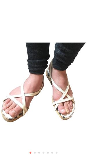 Burberry sandals espadrilles for Sale in Severn, MD