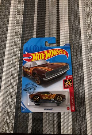 Hot wheels 67 CAMARO for Sale in Riverside, CA