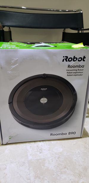 Irobot roomba 890 vacuum wifi for Sale in Fort Lauderdale, FL
