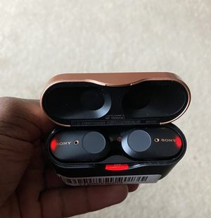 Sony Earbuds WF-1000 XM3 for Sale in Framingham, MA