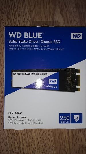 WD Blue Solid State Drive for Sale in The Bronx, NY