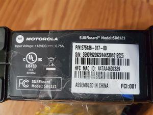 Motorola Modem-comcast for Sale in Tacoma, WA