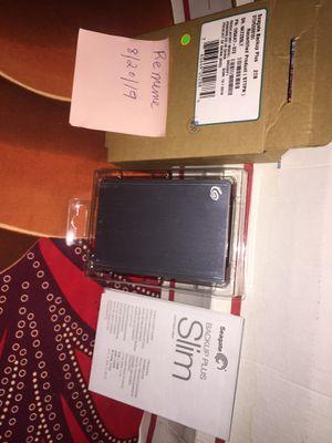 Seagate Backup Plus Slim 2TB Portable External Hard Drive USB 3.0 Black Warranty for Sale in The Bronx, NY