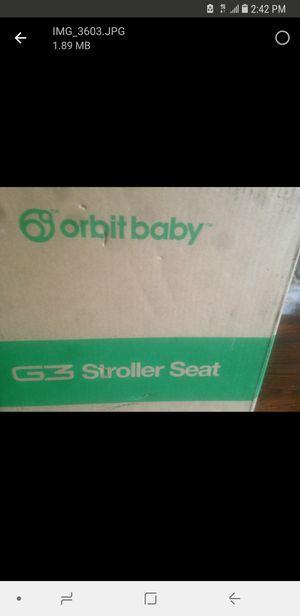 Orbit Baby G3 Stroller Seat for Sale in Chicago, IL