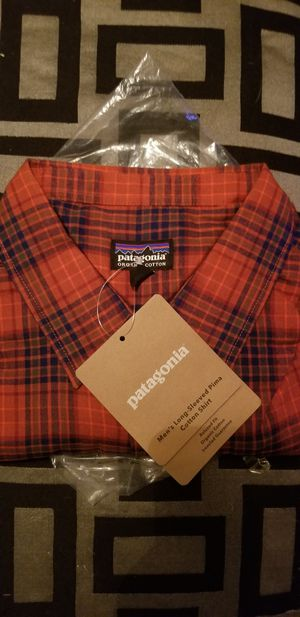 patagonia long sleeve Plaid Shirt for Sale in Glendale, AZ