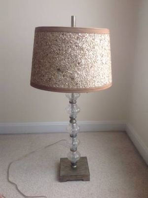 TABLE LAMP W/SHADE for Sale in Sterling, VA