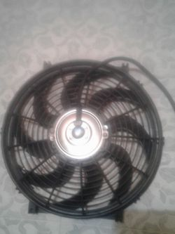 Brand New 12volt Electric Automotive Cooling Fan For Aftermarket Or OEM radiators for Sale in Puyallup,  WA