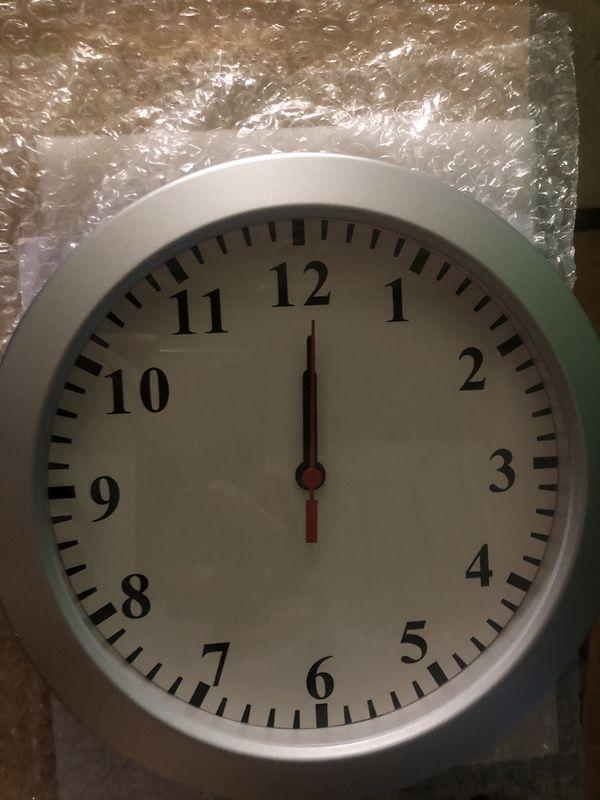 Cheap !! Security Camera In Clock ! Hidden Secret Camera $100