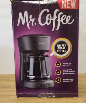 Mr. Coffee 12 Cup Switch Coffee Maker for Sale in Marietta, GA