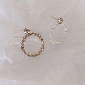 Diamond Pearl Earrings for Sale in Yorba Linda, CA
