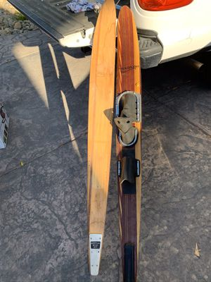 Maharajah wooden Water Skiis (2) for Sale in Tracy, CA