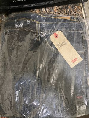 LEVI'S RELAXED STRAIGHT JEANS 👖 SIZE 50#30 BIG & TALL💯🔥🔥 for Sale in Baltimore, MD