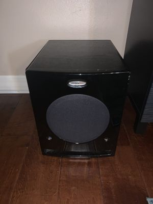 velodyne dls amplefied subwoofer for Sale in Tampa, FL