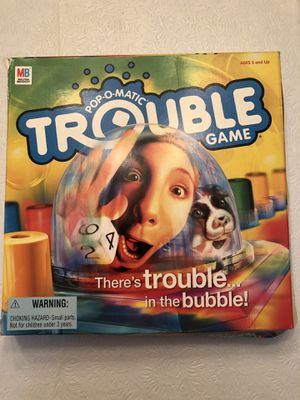 Trouble Board Game for Sale in Annandale, VA