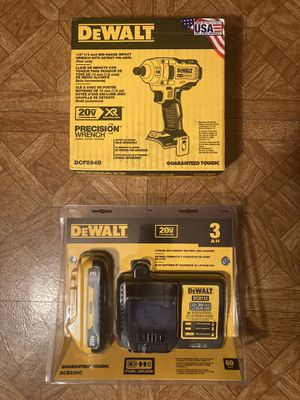 "DEWALT. 20V MAX XR Lithium-Ion Brushless Cordless 1/2"" Impact Wrench with Detent Pin Anvil Kit. DCF894. for Sale in Brooklyn, NY"