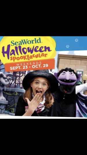Sea world !! Halloween weekends for Sale in Kissimmee, FL