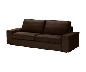 Ikea Kivik sofa (3 seats) brown new covers for Sale in Atlanta, GA